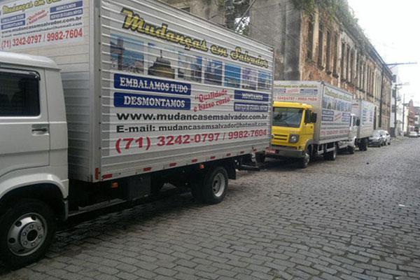 Mudanças em Salvador - Caminhões Baú e Embalagem com Qualidade